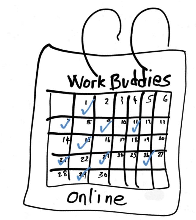 Schedule your Work Buddies Online Session